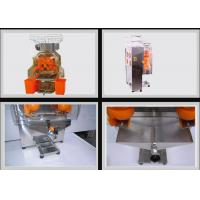 China Heavy Duty Orange Juice Squeezer Machine With Automatic Feeder For Restaurants on sale