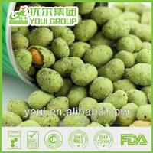 China Thai wasabi coated nuts snacks, wasabi peanuts on sale