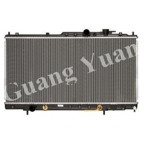 Quality Hard Brazd Mitsubishi Pajero Radiator, Aluminum Core Radiator DPI 2406 wholesale