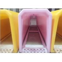 China Travelling Portable Rotational Moulding Products Plastic Pet Cage Various Colors on sale