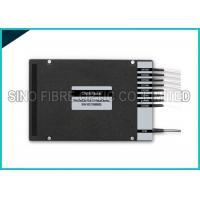 Quality 8 Channel Fiber Optic Splitter Dual Fiber DWDM Mux Demux LC UPC Assembly wholesale