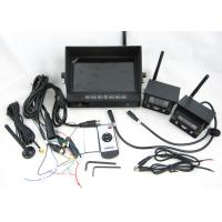 Quality 2 Pcs Wireless Night Vision Vehicle Electronic Monitoring Systems 7 Inch wholesale