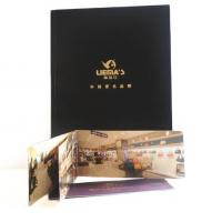 Quality luxury design fold leaflet booklet printing brochure printing full color all pages wholesale