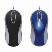 Quality 5-button Wired Optical Mice with Automatically Power-saving Sleeping Function, Convenient wholesale