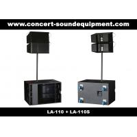 """Quality Line Array Sound System , 2x1""""+10"""" 380W  Line Array Speaker For Living Event , DJ And Party wholesale"""