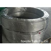 China 1.4301 TP304 Drawn stainless steel flexible exhaust tubing Coiled Tubing Tig Welding 1.00 Thickness on sale