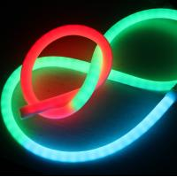 China Ultra Thin 24v 360 Degree Mini Led Neon Flex Ip65 Tube Rope Rgb Dmx Lighting For Rooms on sale