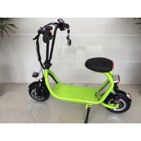 China Mini ELithium Electric Scooter With Seat HALI With Candy Colour / 350w Motor on sale