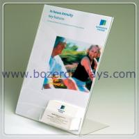 A4 Print Holder With Business Card Pocket for sale