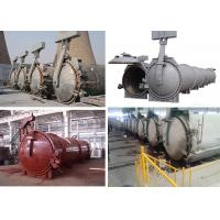 Quality High Temperature Steam Pressure AAC Autoclave For AAC Block Making Plant wholesale