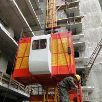 China Material hoist SS100/100 Material Hoist it is safe on sale