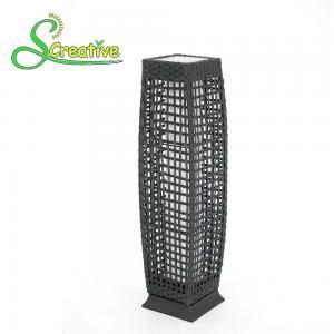Quality Pathway Decorative Rattan Solar Garden Lights LED Solar Panel Outside Waterproof wholesale