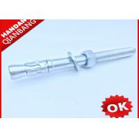 Quality Carbon Steel M12 Wedge Type Anchor Bolts With Washer And Nut Free Samples wholesale