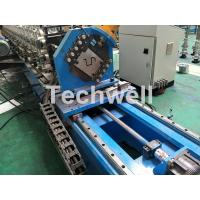 Quality 16 Stations Cold Roll Forming Machine With Rubber Belt Driven Servo Tracking Cutting Device wholesale