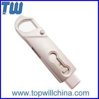 Buy cheap Full Metal Twister Usb 3.1 Type C Flash Drive with Buckle easy to carry product