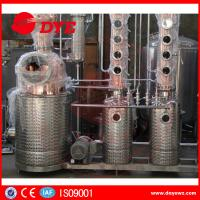 Quality Red Copper Still Kits Copper Distillery Equipment 1-3 Layers SUS304 wholesale