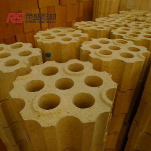 Quality Al2o3 55 % Fire Clay Checker High Temperature Brick Customsized Color wholesale
