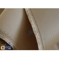 Quality High Temp Silica Fabric Brown 35OZ 92CM 800℃ Durable Electrical Insulation wholesale