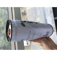 Quality 248ml Fruit Drink Empty Metal Tin Cans With Easy Open Lids For Food Storage wholesale