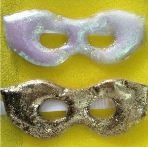 Quality gel eye mask,Gel Eye Mask Relieve Stress Fatigue Puffy Swollen Eyes,gel with shinning powder wholesale