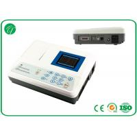 China 3 channel Portable ECG Machine , ecg monitoring device rechargeable lithium battery on sale