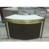 Quality Small Jewellery Display Cabinets / Glass Jewelry Case With Multi Color wholesale