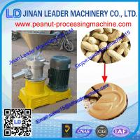 China long work time 1000-1500 kg/h Peanut butter machine for making garlic chili peanut butter on sale