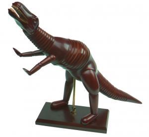 Quality Dinosaur / Diplodoucus Animal Manikin Wooden Artist Model Chinese Juniper Material wholesale