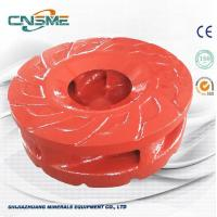 Quality Higher Pressure Slurry Pump Spare Parts 6 Vane Impeller For Centrifugal Slurry Pump wholesale