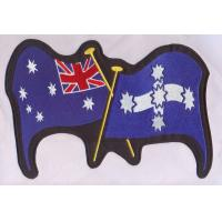 Quality Custom embroidery patches Uniform / Military / Security Embroidered Flag Patches wholesale