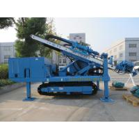 Quality High Impact Frequency Anchor Drilling Rig Hydraulic System High Power Virbration Foundation wholesale