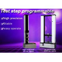 Quality Specimen Choosing Electronic Universal Testing Machine Of Metals Load Holding wholesale