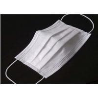 Quality Odourless Lint Free Disposable Medical Mask , Disposable Medical Mouth Cover wholesale
