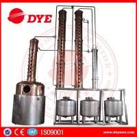Quality Red Copper Alcohol Distiller Machine Electric Hearting Or Steam Hearting wholesale