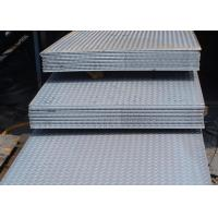 Quality Lentils Surface Checker Plate Steel Sheets / Coil Thickness 3mm - 12mm wholesale