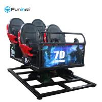 Quality Movie Theater 5D Cinema Equipment 220 V 6 DOF Movement 3.75-5.50KW 12 Months Warranty wholesale