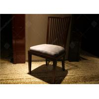 Quality Highly Endurable Restaurant Hotel Room Chairs Solid Wood Simple Style Customized wholesale