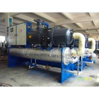 Quality High EER Heavy Duty Water Cooled Screw Chiller With R22 Refrigerant Large Cooling Capacity 373KW wholesale