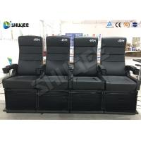 Quality 2DOF 4D Cinema Equipment For Update 3D Theater 50-150 Seats To Attract More People wholesale
