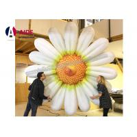 Quality 5m Rent Inflatable Daisy , Inflatable Promotional Items In Promotional Show wholesale