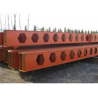 Quality Honeycomb Structural Steel Beams Q235b Q345b Grade For Main Support wholesale