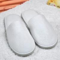 Quality Unisex Closed Toe Disposable Spa Slippers , Washable / Reusable Hotel Room Slippers wholesale