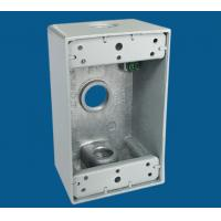 Quality 3 Outlet Holes Waterproof Electrical Box / Outdoor Electrical Outlet Box wholesale