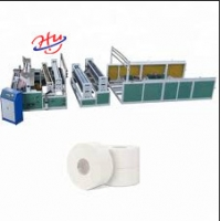 China Automatic Paper Toilet tissue rewinding and slitting embossing machine on sale