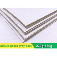 Quality One side coated Duplex Paper Board with grey back 300g 700 * 1000mm wholesale