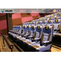 Quality Arc Screen 4D Cinema Equipment Simulator Motion Chairs Customized Color SGS wholesale