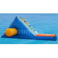 Quality Colorful Children Inflatable Water Whoosh Slide With Reinforced Baffles wholesale
