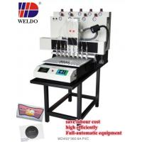 China WD automatic liquid pvc dispensing machine for cartoon pvc shoes cover on sale