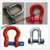 Quality Screw Pin Bow Shackle& D- Shackle,Standard D Shackle&forged Shackle wholesale