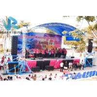 China Outdoor Arch On Stage Lighting Truss , Display Decoration Aluminum Box Truss on sale